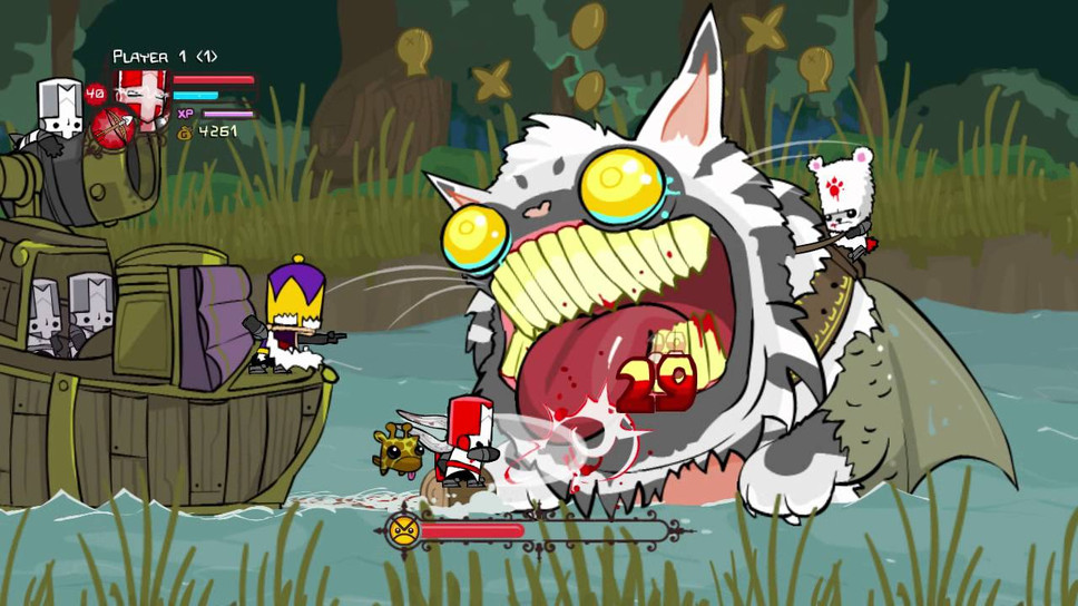 Castle Crashers Remastered Is Out This Week Free For Some
