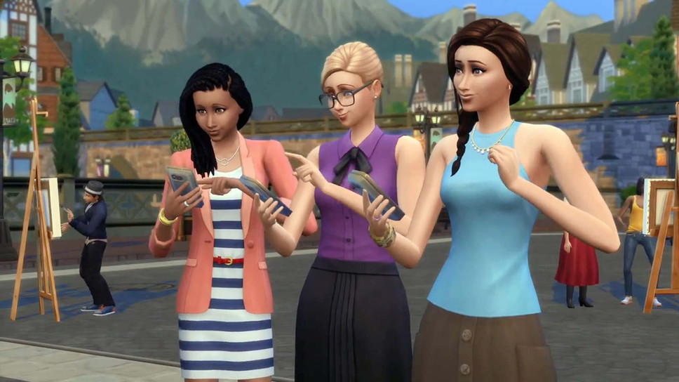 Rachel Franklin on The Sims 4's Get Together DLC