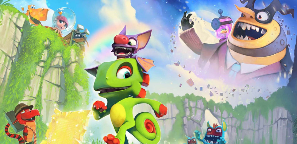 Yooka-Laylee review