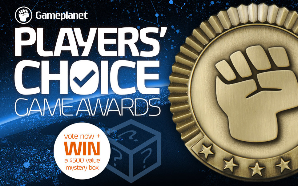 Vote for your Game of the Year and win a mystery prize