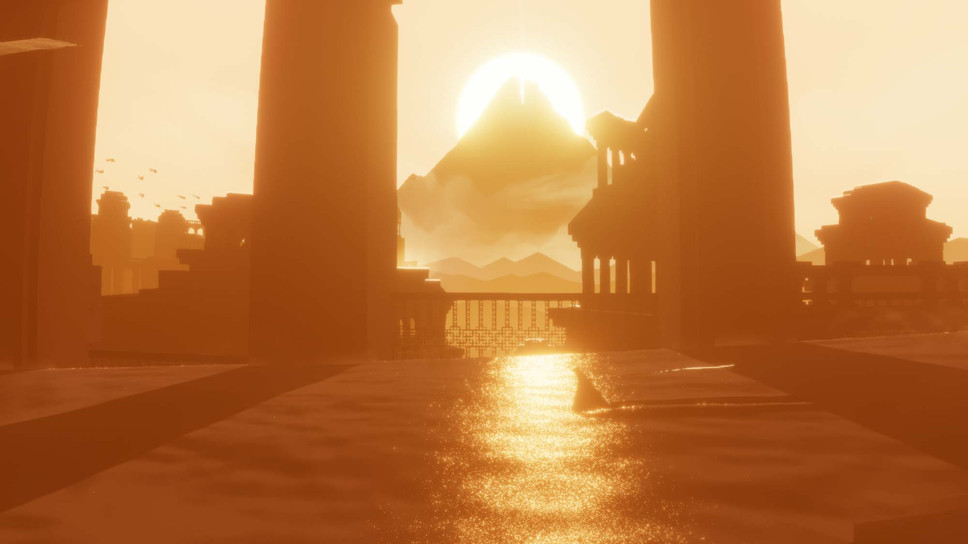 Journey on PS4 eclipses its sibling