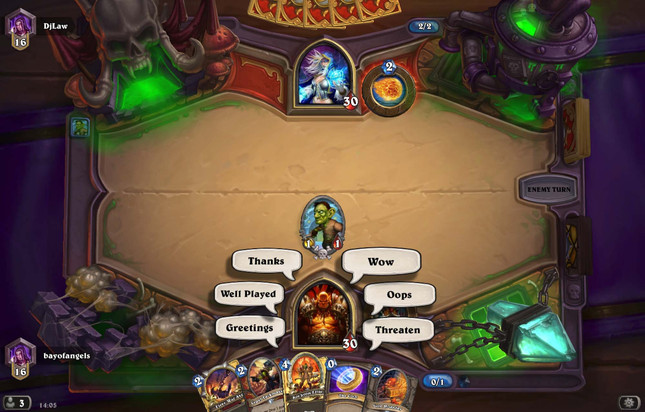 "Blizzard removes Hearthstone's oft-sarcastic ""sorry"" emote"