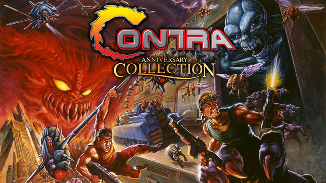 Konami confirms Contra: Anniversary Collection lineup