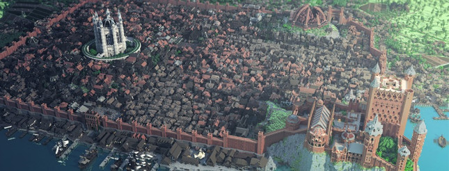 Almost all of Game of Thrones' Westeros has been recreated in Minecraft