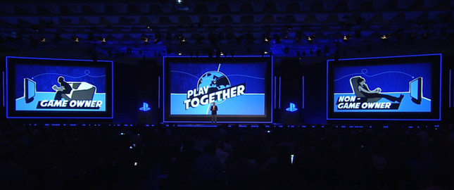 Sony explains how Share Play will work on PS4