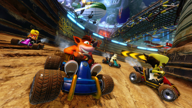 Crash Team Racing remaster is coming to consoles