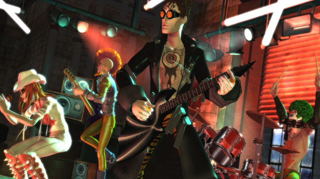 Harmonix staff caught reviewing Rock Band 4