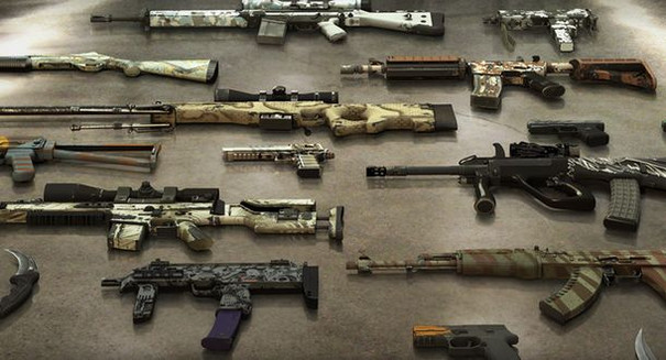 CS:GO update adds 100 weapon skins, microtransactions