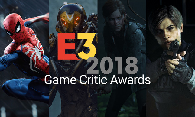 E3 2018 Game Critic Award winners announced