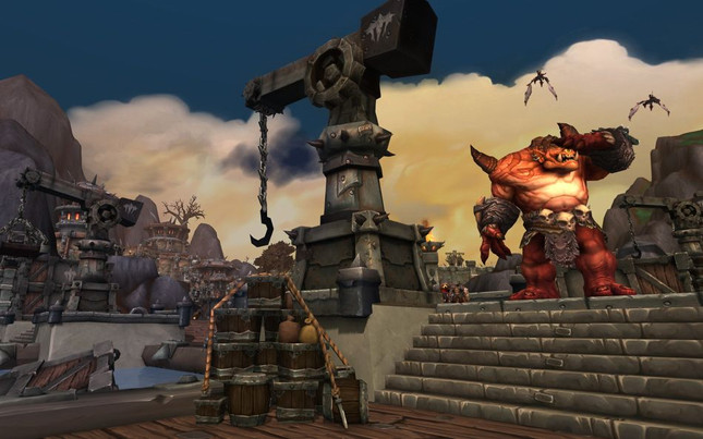 Flying mounts will never come to WoW: Warlords of Draenor