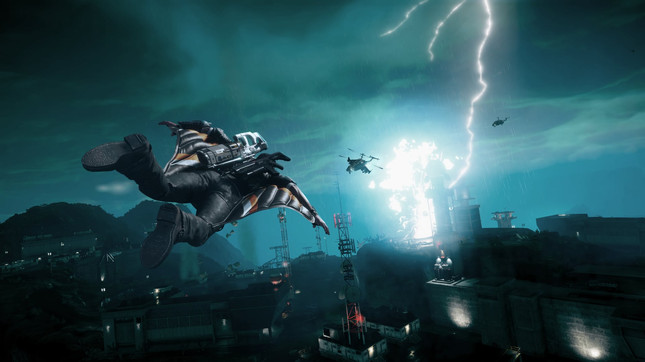 Just Cause 4: Deep Dive trailer is completely bonkers