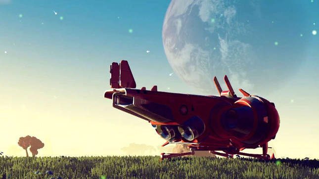 No Man's Sky sold early, streamed before massive day one patch