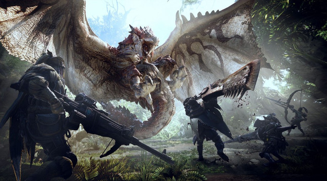Monster Hunter: World hits PC next month