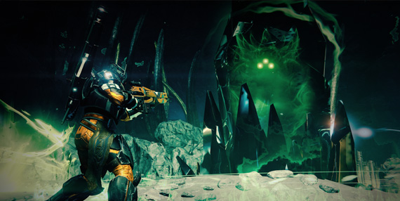 Destiny's first expansion, The Dark Below, is available now