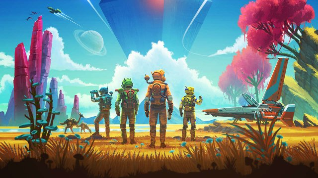 Hello Games still aren't done with No Man's Sky