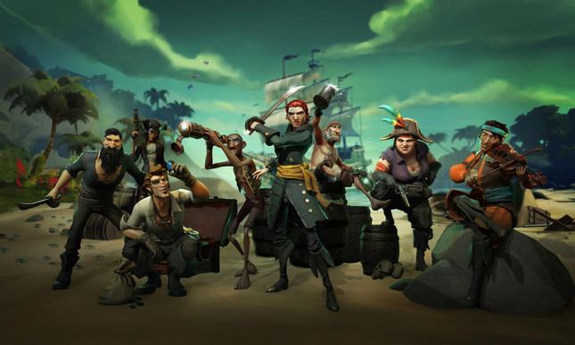 Sea of Thieves to add three new content updates this year