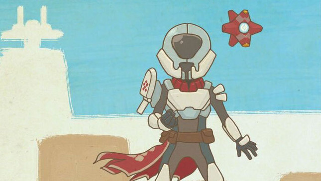 Destiny children's book is an illustrated Grimoire alternative