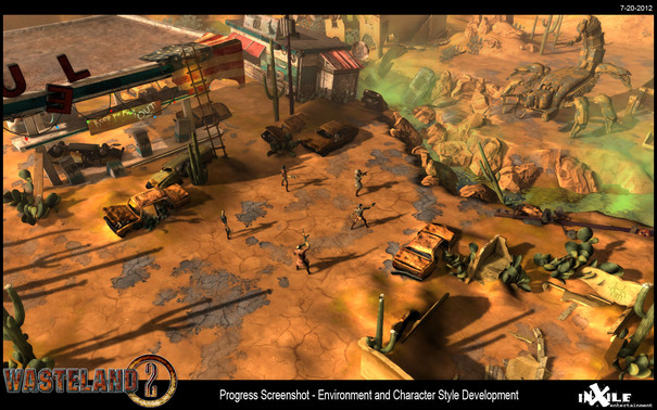 Wasteland 2 beta now available to backers