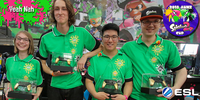 Team Yeah Nah inks its ticket to Splatoon 2 World Champs
