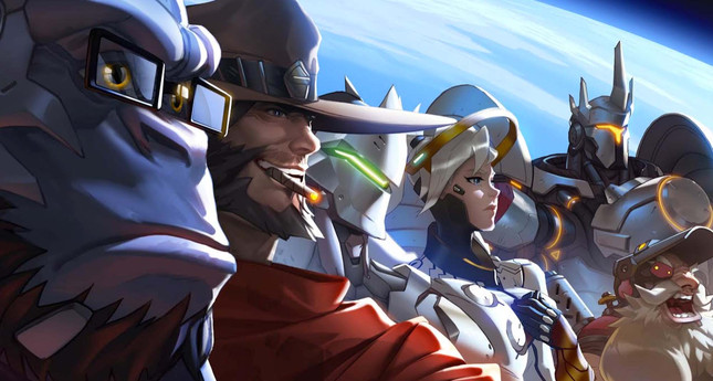 Overwatch is live, Competitive Mode expected late June