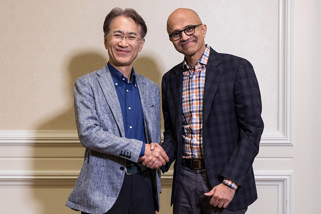 Sony and Microsoft announce Cloud Gaming partnership
