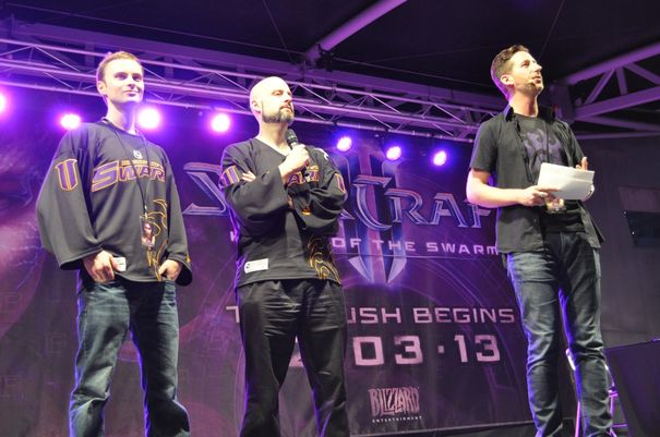 Heart of the Swarm launch infests Melbourne