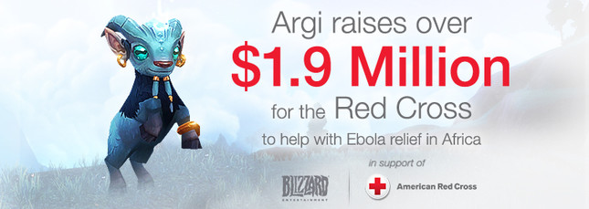 WoW players raise US$1.9 million for ebola relief in Africa