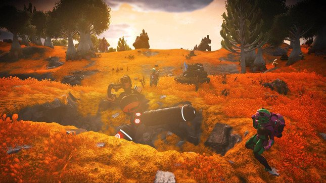 No Man's Sky's Vision Update is here