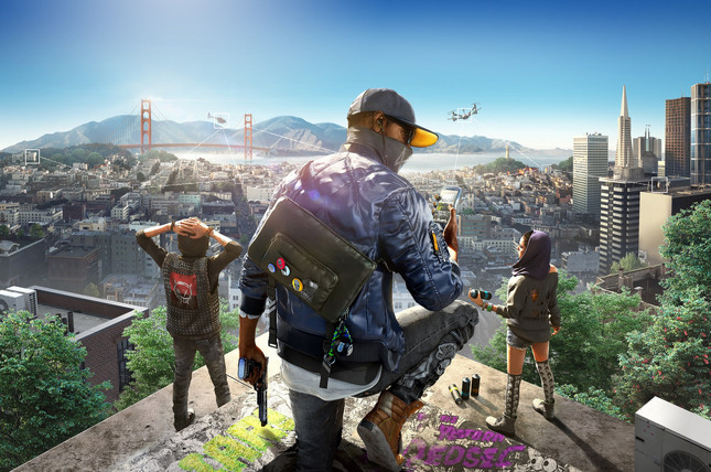Ubisoft shows off Watch Dogs 2's sunny San Francisco