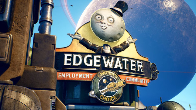 The Outer Worlds gameplay looks amazing