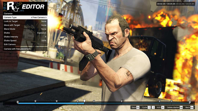 GTAV's Rockstar Editor coming to PS4 and Xbox One