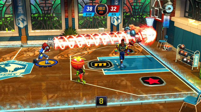 Dunk Lords is an NBA Jam brawler from Spelunky programmer Andy Hull