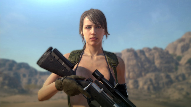Metal Gear Solid V's latest patch lets you play as Quiet