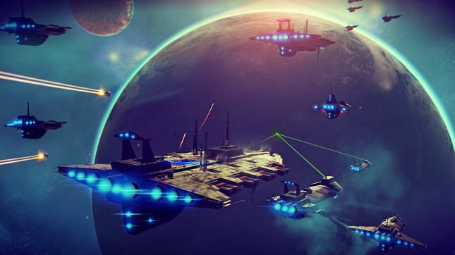 No Man's Sky doesn't require PS Plus for online play