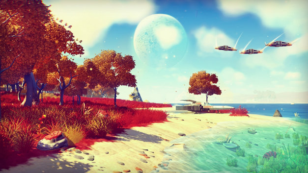 No Man's Sky won't let two players see each other