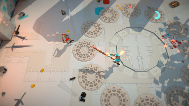 Swordy is a local multiplayer brawler that takes physics seriously
