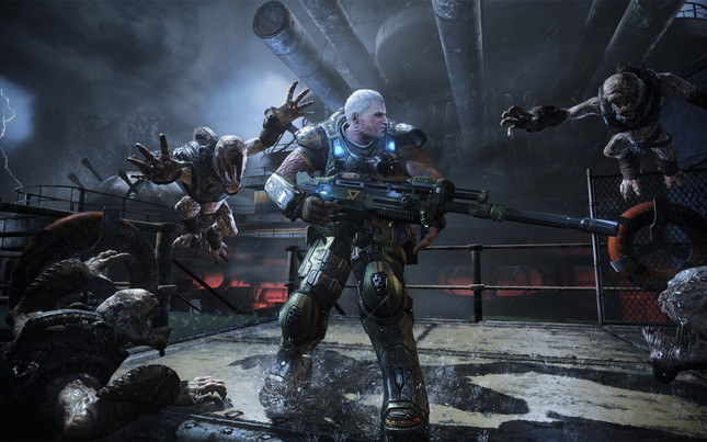 Check out Gears of War 4's insane PC graphics options