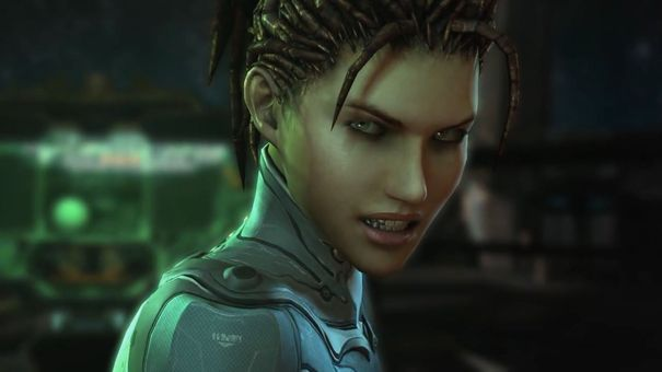 Heart of the Swarm will add a training mode to StarCraft II
