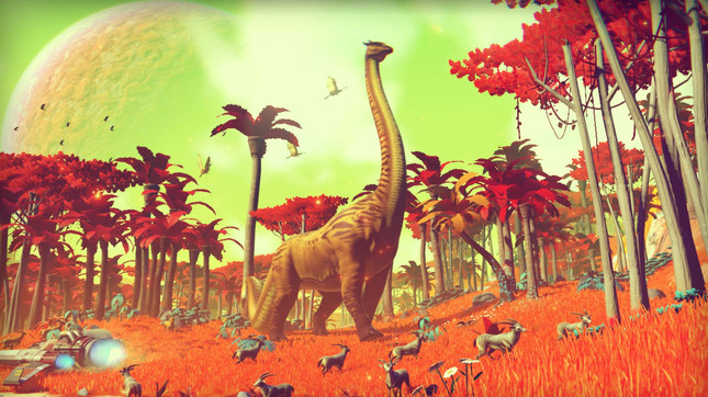 Here are 30 true facts about space explorer No Man's Sky