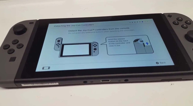 Switch ships early to customer, who reveals UI in video