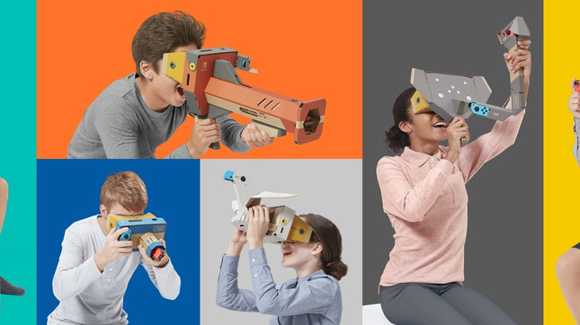 Nintendo's latest Labo kit will let you delve into VR