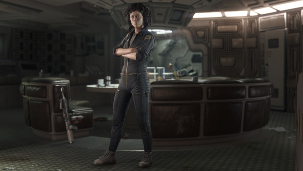 Get a first look at Alien: Isolation's take on the 1979 movie
