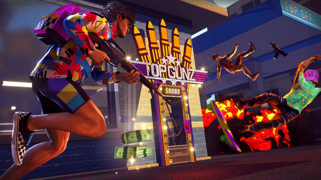 Boss Key's next game is an '80s-themed battle royale shooter called Radical Heights