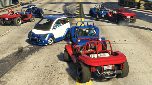 GTA Online gets football-inspired car combat mode