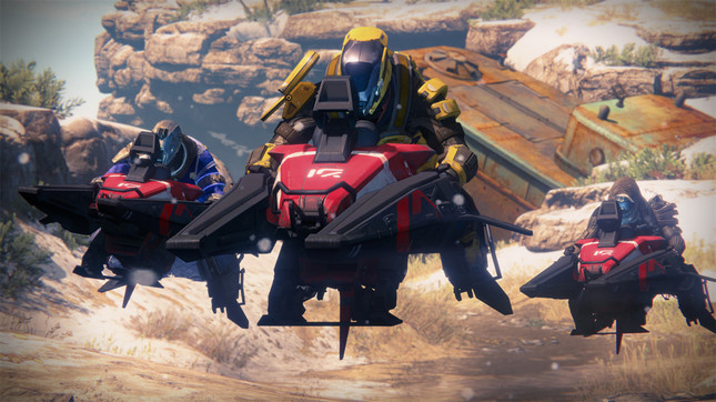 Sparrow racing is coming to Destiny this month