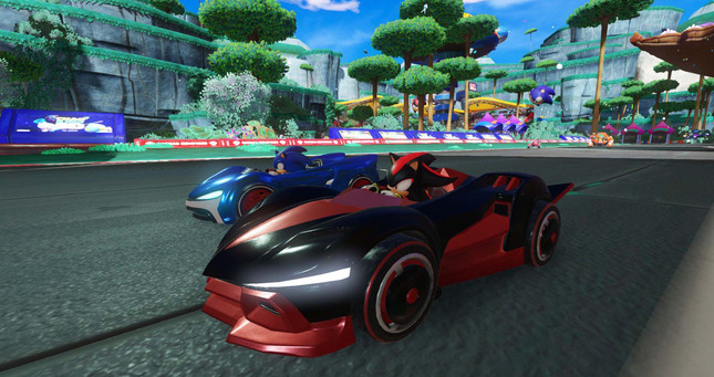 Team Sonic Racing is a new team-focussed Sega racer