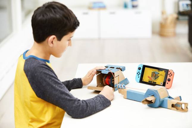 Nintendo announces Labo, a series of DIY toys and peripherals