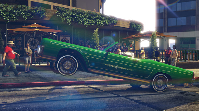 GTA Lowriders update brings hydraulics and Halloween