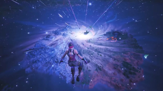 Fortnite Chapter 2 trailer leaks following black hole event