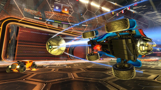 Rocket League adds Xbox One/PC cross network play